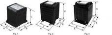 POLYLUX PC63 Transformador monofásico SERIE P 24/48V 63VA IP20