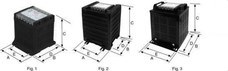 POLYLUX PC630 Transformador monofásico SERIE P 24/48V 630VA IP20