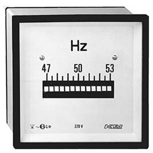 Frecuencímetro lámina HLC 72 230V