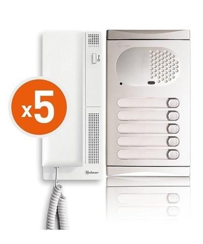 Kit audio 4150/AL 5 viviendas