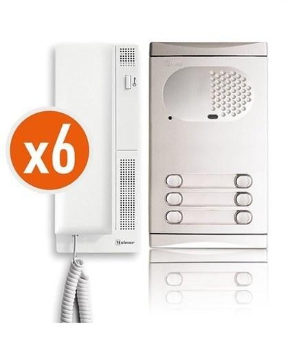 Kit audio 4260/AL 6 viviendas