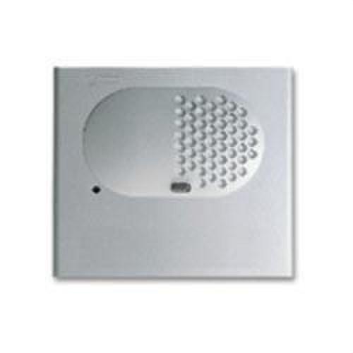 Módulo rejilla audio sin pulsadores aluminio