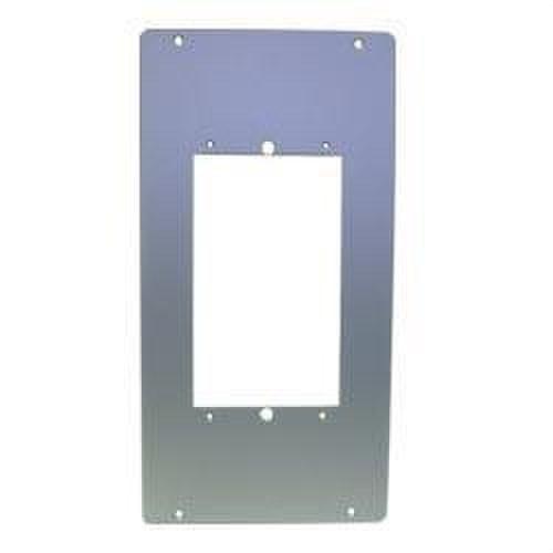 Marco sustitución placas compactas aluminio