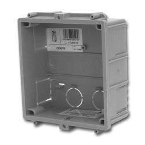 Caja empotrar placas 1 módulo