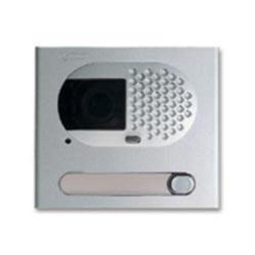 Módulo rejilla video 1 pulsador aluminio