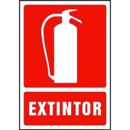 Senalizacion óptica seguridad SE/EXTIN -EXTINTOR-