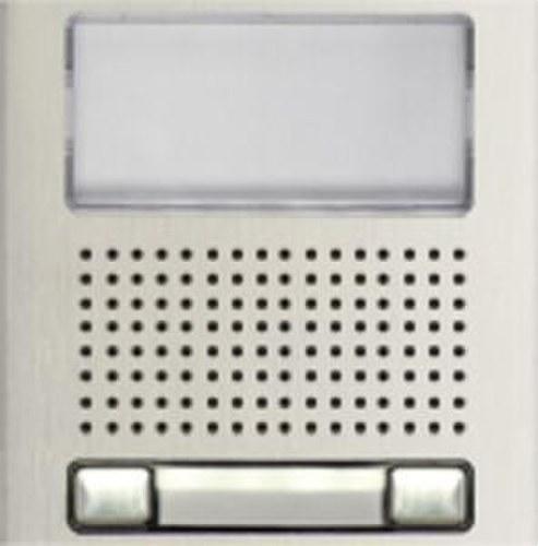 Módulo rejilla N1220/AL 2 pulsadores