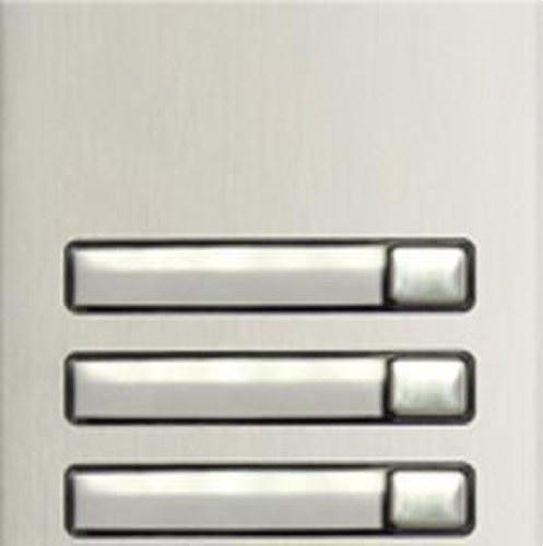 Módulo pulsadores N3130/AL 3 pulsadores