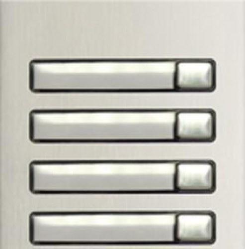 Módulo pulsadores N3140/AL 4 pulsadores