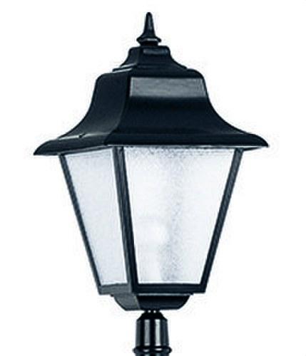 Cabeza columna ROB blanco 1 lámpara cristal transparente 23/100W
