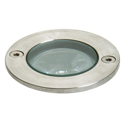 Empotrable suelo redondo GLASS IP67 LED 1x1W inoxidable