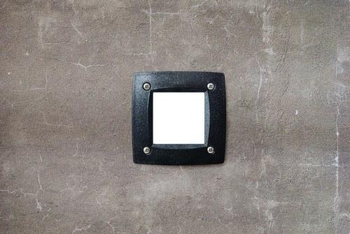 EMP.CUAD. PARED DEVON GX53 LED T2 3W 350LM 3000K BL.