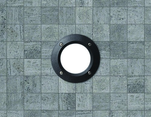 Empotrable circular pared DEVON LED 3W GX53 negro