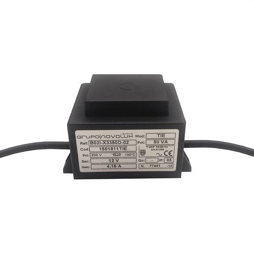 Transformador 12VAC 50W IP65