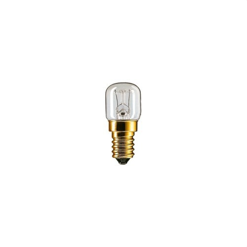 Lámpara incandescente 15W E14 230-240V T22 CL-OV-1CT