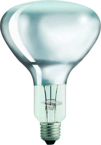 Lámpara IR 375W E27 230-250V R125 clase