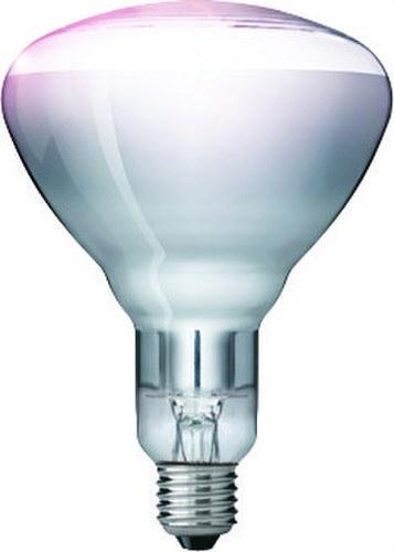 Lámpara IR infrarrojos 150W E27 R125 CL HG