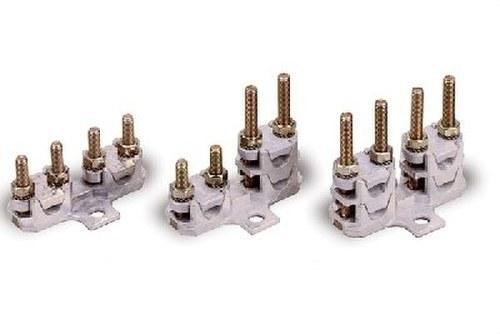 Bornes conexión bimetálicos pala simple piso 50mm2
