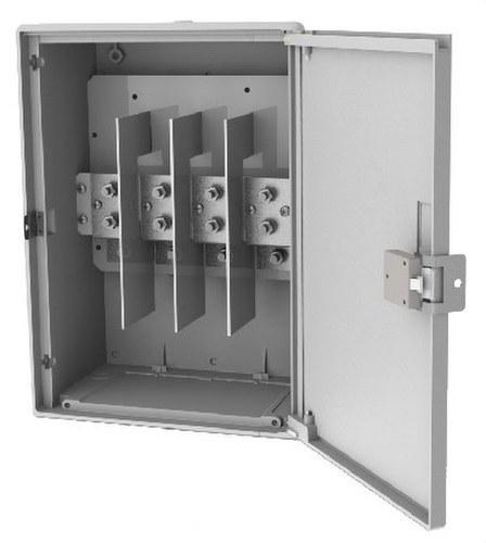Caja CPD paso línea 240mm2 y 1 derivación 150mm2