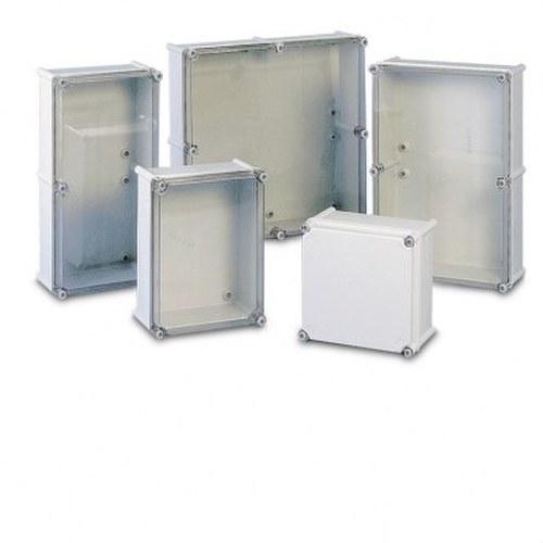 Caja UNINTER S33 MH86A con junta tapa policarbonato transparente 720x540x201mm