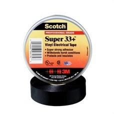 3M ELECTRICOS 332019 Cinta Scotch super 33+20x19 PVC negro