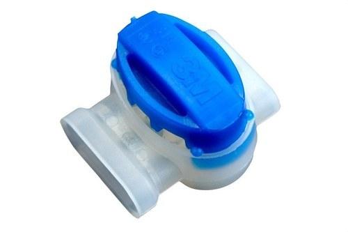 Conector Scotchlok 314 antihumedad tapa azul