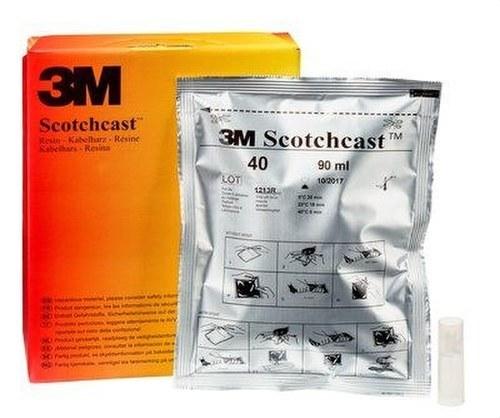 Resina Scotchcast numero 40 unipack-C 420g poliuretano