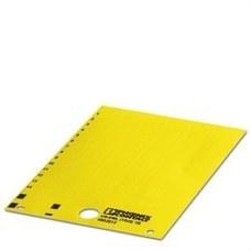 PHOENIX CONTACT 0803813 Etiqueta tarjeta US-EML (15X9) YE en amarillo