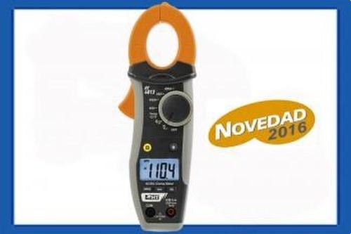 Pinza amperimétrica HT4013 400A CA/CC