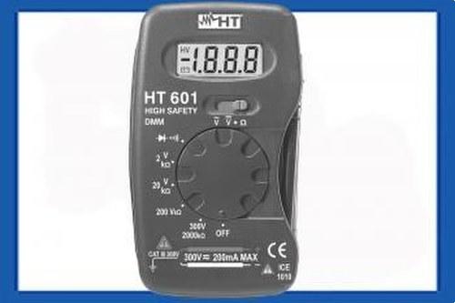 Multímetro digital HT601 bolsillo escala manual 3.1/2