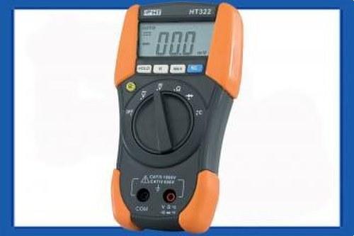 Multímetro digital HT322 categoría IV+con temperatura