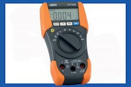Multímetro digital HT326 categoría IVcompleto