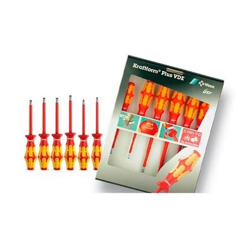 Conjunto 6 destornilladores LASERTIP K01-S VDE 1000V