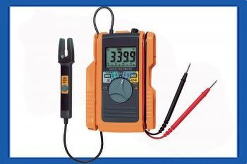 Multímetro bolsillo pinza amperímetro corriente alterna corriente continua HT12