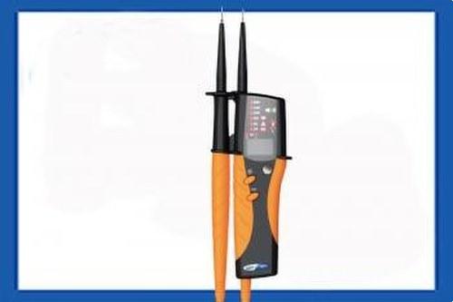 Comprobador lámpara gas HT9 detector tensión