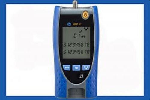 Verificador cable voz/datos/video VDV II