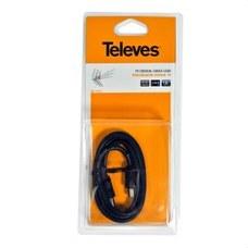 TELEVES 4312 Prolongador ACH-REM 9,5mm diámetro 1,5m blister