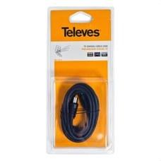 TELEVES 4314 Prolongador REH-REM 9,5mm diámetro 2,5m blister