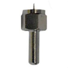 TELEVES 4061 Carga adaptadora 75Ohm F con bloqueo y condensador
