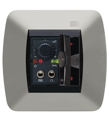Mando 2 canales stereo/monofásico 1,5+1,5W negro