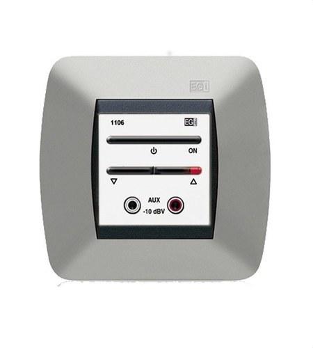 Módulo regulador volumen+entrada auxiliar blanco