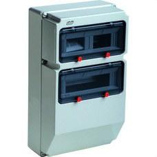 IDE 1724GM Caja Pryma 24 módulos protección IP67 297x504x177mm