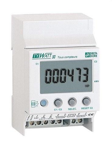 Indicador consumo TYWATT-30 instalación monofásico