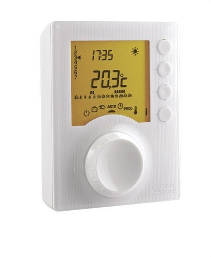 Termostato programable FILIAR TYBOX117 para calefacción