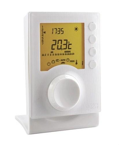 Termostato programable radio TYBOX137 para calefacción