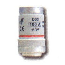 DF 201100 Cartucho fusible DO3 gL 100A M30x2