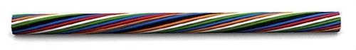Cable trenza ZH 2x1,5mm² negro rojo (Rollo 100m)