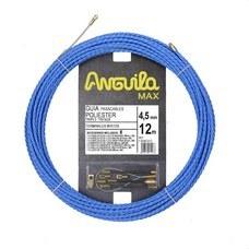 ANGUILA 75045012 Trenza triple poliéster ANGUILA MAX diámetro 4,5mm 12m con nuevos terminales diámetro 5mm f
