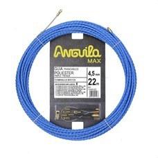 ANGUILA 75045022 Trenza triple poliéster ANGUILA MAX diámetro 4,5mm 22m con nuevos terminales diámetro 5mm f