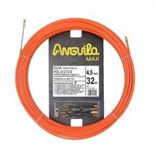 ANGUILA 75145032 Trenza monofilamento poliéster ANGUILA MAX diámetro 4,5mm 32m con nuevos terminales diámetr